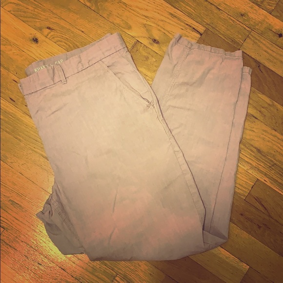 GAP Pants - GAP Rose Khakis